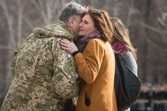 3rd rocznica tworzenie gwardia narodowa Ukraina Zdjęcie Stock