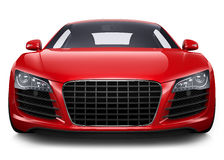 Röd sportbil Royaltyfri Bild