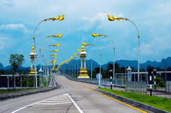 3rd Thailändsk-laotiska kamratskapbro Arkivfoton