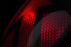 Röd trafikljus Royaltyfria Foton