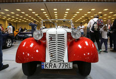 3rd upplaga av MOTO-SHOWEN i Krakow Arkivbild