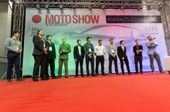 3rd upplaga av MOTO-SHOWEN i Krakow poland Fotografering för Bildbyråer