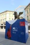 73rd Wenecja Międzynarodowy Ekranowy festiwal Zdjęcie Royalty Free