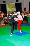 3rd światu kickboxing mistrzostwo 2011 Zdjęcia Royalty Free