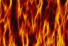 Röda bakgrunder för flammabrandtextur Royaltyfri Fotografi