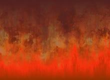 Röda bakgrunder för flammabrandtextur Royaltyfria Bilder