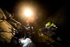 räddningsaktion Royaltyfri Bild