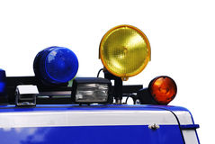 Räddningsaktionlampor Royaltyfria Bilder