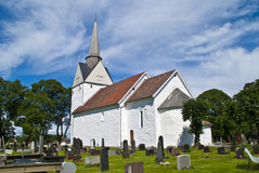 Råde church (east south-east) Royalty Free Stock Image