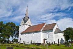 Råde church (south-east) Stock Photos