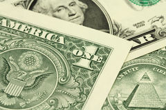 Rdin bills in US dollar Stock Photo