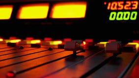 Rádio em Noite Imagens de Stock