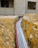 Źródło zasilania ogólny elektryczny panel Obraz Royalty Free