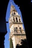 Rdoba del ³ de Mezquita de CÃ, torre. Fotografía de archivo