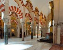 rdoba för c mezquita arkivbilder