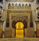 rdoba för c mezquita royaltyfria foton