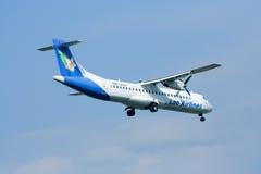 RDPL-34132 ATR72-200 de Lao Airline Imagem de Stock Royalty Free