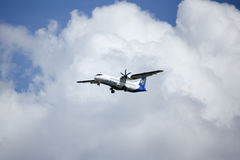 RDPL-34176 ATR72-500 de Lao Airline Photographie stock