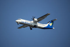 RDPL-34175 ATR72-500 de Lao Airline Photographie stock libre de droits