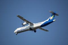 RDPL-34175 ATR72-500 de Lao Airline Imagem de Stock Royalty Free