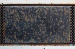 Rdza na starym metal powierzchnia Obrazy Royalty Free