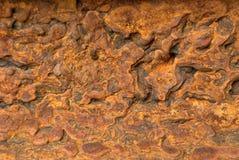 Rdzewiejąca metal tekstura Zdjęcie Stock