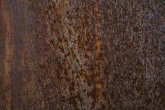 Rdzewiejąca metal tekstura i tło Grunge stara ośniedziała porysowana nawierzchniowa tekstura Tło - stara metal powierzchnia Obraz Stock