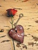 Rdzewiejąca miłość Obraz Stock