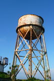 rdzewiejąca wieży wody Obrazy Royalty Free