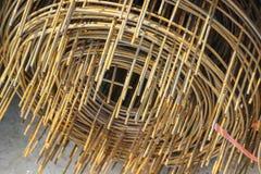 Rdzewiejący żelazo drut zdjęcie royalty free