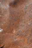 Rdzewiejący ciężki metal, tło Fotografia Stock