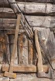 rdzewiejący narzędzia Zdjęcia Royalty Free