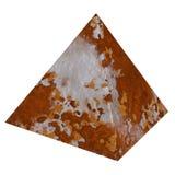 Rdzewiejący ostrosłupa metal rdzewieje tekstury zdjęcia stock