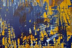 Rdzewieję malował metali talerze Obraz Stock