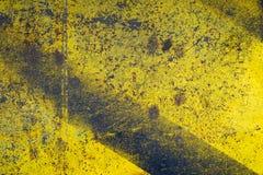 Rdzewieję malował metali talerze Zdjęcia Royalty Free