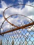 rdzewiejący niebo Fotografia Stock