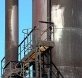 Rdzewieje przejście Fotografia Stock