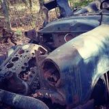 Rdzewieje samochód Zdjęcia Royalty Free