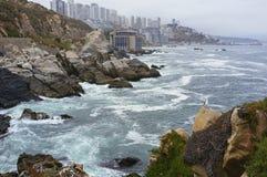 Reñaca Chile Lizenzfreie Stockfotos