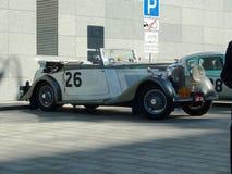 Reúna Pekín a París 2013, Kharkov, estacionamiento, coches 26, 88 fotografía de archivo libre de regalías