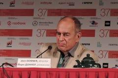 Reżyser filmowy Jorn Donner Zdjęcia Stock