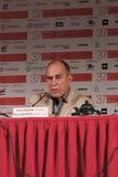 Reżyser filmowy Jorn Donner Zdjęcie Stock