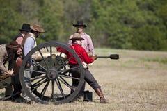 Re-введение в силу гражданской войны Стоковые Изображения RF