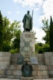 Re Afonso Henriques Statue fotografie stock