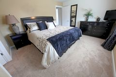 Re Bedroom Immagine Stock