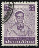 Re Bhumibol Adulyadej Fotografia Stock