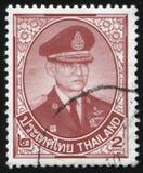 Re Bhumibol Adulyadej Immagini Stock Libere da Diritti