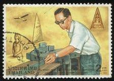 Re Bhumibol Adulyadej Fotografie Stock Libere da Diritti