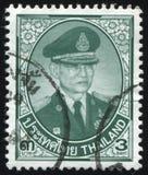 Re Bhumibol Adulyadej Immagine Stock