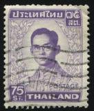 Re Bhumibol Adulyadej Immagini Stock